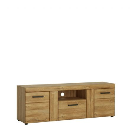 2 door 1 drawer tall TV cabinet